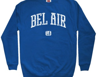 Bel Air Los Angeles Sweatshirt - Men S M L XL 2x 3x - Crewneck, Gift For Men, Gift for Her, Bel Air Sweatshirt, California, LA, Sunset Blvd