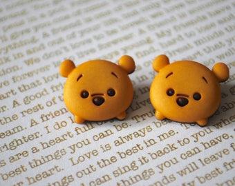 Winnie the Pooh Earrings -- Baby Winnie the Pooh, Pooh