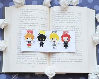 Kingdom hearts magnetic bookmarks