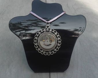 Necklace, for creating vintage watch movment