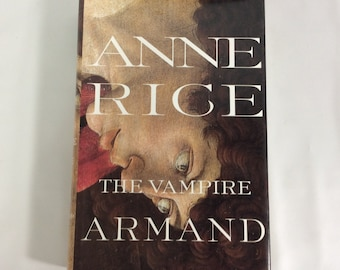 The Vampire Armand Anne Rice Hard Cover Dust Jacket First Trade Edition 1998 Knopf