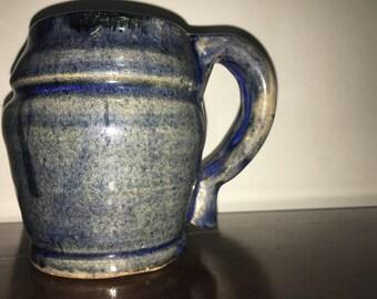 Hand Crafted Blue Mug