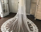 Unique tribal lace veil, ...