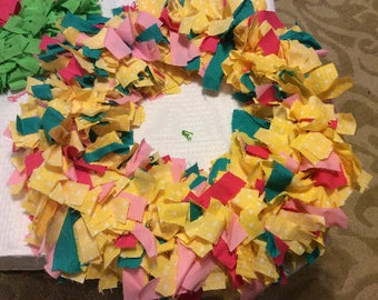 Custom Cloth Wreath