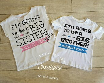 I'm going to be a big brother! - Big brother Shirt - Pregnancy announcement