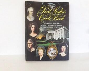 First Ladies Cook Book 1966, Vintage CookBook, Vintage Cook Book, Dining and Serving, Cooking, Vintage Collectible