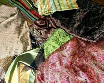 Fancy Fabric Scraps