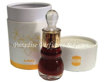 Big 12ml *SHAMAMATUL AMBER* Ajmal Limited Edition Gorgeous Amber Perfume Oil - Collectors Item!