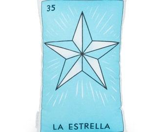 La Estrella Loteria Printed Pillow