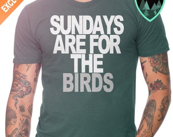 Philadelphia Eagles Shirt, Sundays are for the Birds Shirt, Eagles T-Shirt, Sundays are for the Eagles Shirt, Eagles Gift, Eagles Dad