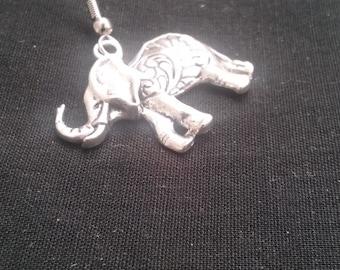 Elephant Earring, Elephant Jewelry, Mens Jewelry, Asian Elephant Earring, Animal Jewelry, Mens Earring