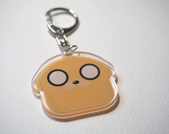 Adventure Time Jake acrylic charms