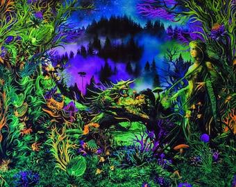 UV Backdrop 'Elven Realm'