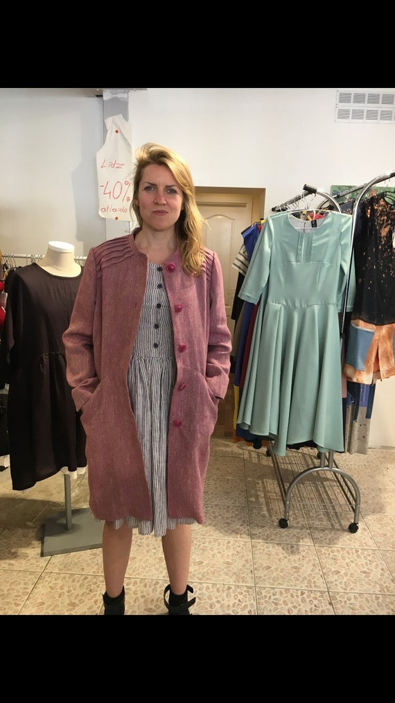 Linen coa to Coat clothing coat ship REady Linen linen Linen Ydzwqx