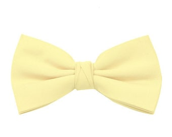 Lemon Page Boy's Wedding Bow Tie also available in other colours by Matchimony
