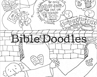 Bible Doodle Study Guide for Revelation 14 The Lamb and the