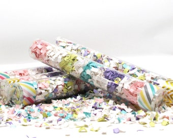 Unicorn Party, Unicorn Rainbow, Rainbow Party, Party Poppers, Confetti Wands, Rainbow Birthday, Unicorn Party Decor,