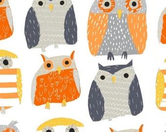 Wildwood - Owls Multi - Dear Stella (STELLA-328-MULTI)