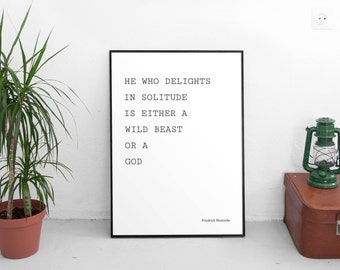 He Who Delights Quote by Friedrich Nietzsche, Wise Quotes, Inspirational Quotes, Wise Quotes, Life Quotes, Digital Download, Printable Art