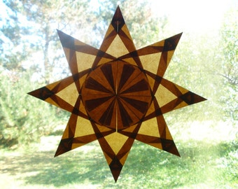 Brown Thanksgiving Autumn Star Waldorf Inspired Birthday Wedding Anniversary Gift Art Montessori Homeschool ECFE School Classroom Daycare Nursery Bedroom Home Kitchen Office Decoration Naturalkids Team Team MN handmadeMN createability