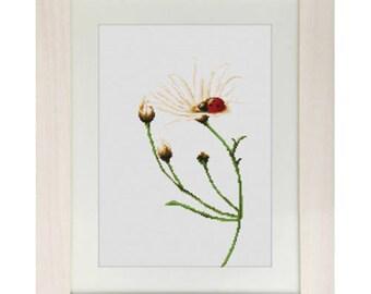 Cross Stitch Kit Communication (ladybird)