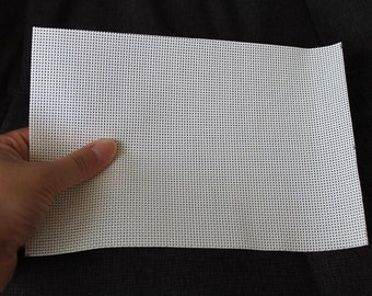 6'' x 9'' and 12'' x 9'' Paintable plastic mesh for vision on mascots and other costumes