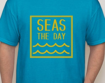 Seas The Day (Blue)