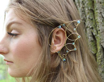 mermaid ear cuffs