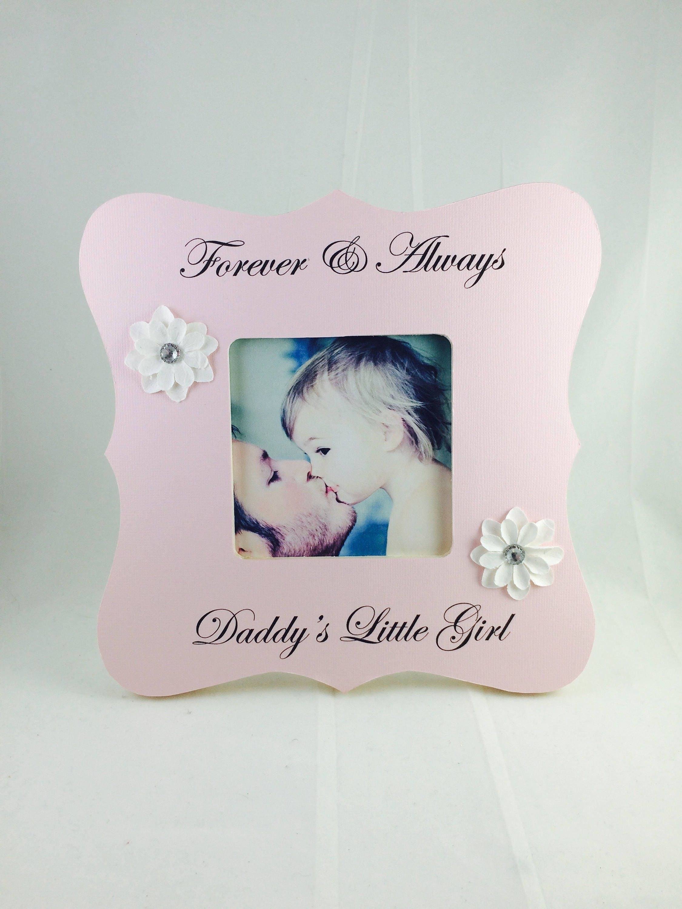 Father daughter dad gift from daughter gift for dad frame for Just my style personalized jewelry studio
