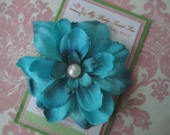 Girl hair clips - flower hair clips - girl barrettes - barrettes for girls