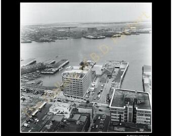 Wharf Distrrict, Boston, MA 1953