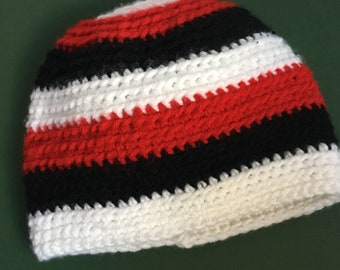 Striped Baby Hat- Handmade, Crocheted