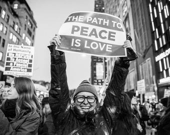 The Path to Peace is LOVE
