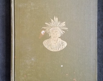 Rare Antique Book on Native Americans - 1925 - Fortieth Annual Report of the Bureau of American Ethnology