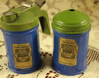 Pantry Pops Vintage Cream and Sugar Set