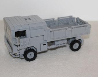 Bundeswehr Lkw 5T Mil build out of LEGO® bricks