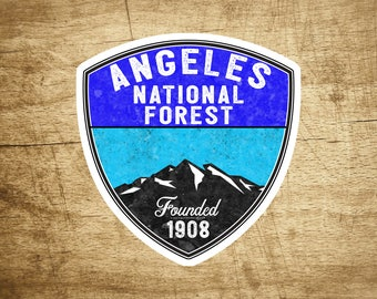 "3.1"" Angeles National Forest California Sticker Decal"
