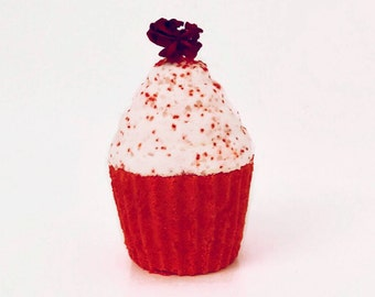 Stop & Smell the Roses Cupcake Bath Bomb