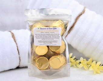 Lemongrass Shower Steamers - Shower Tablet - Shower Bombs - Shower Fizzy - Wake Up Gift