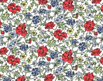 Liberty Fabric Tana Lawn Fat Quarter Ballerine D