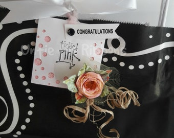 NEW Tickled Pink Cub Gift Bag