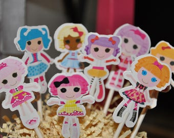 Lalaloopsy Cupcake Toppers Set of 12
