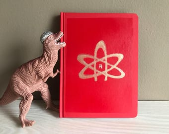 Atheist notebook, red