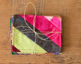 Quilted Coasters (Set of 4)