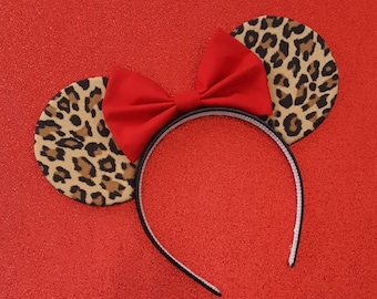 Leopard Mouse Ears