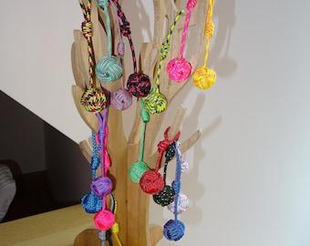 ball coil rope, marine key marine rope, colored key, Keychain, cheap gift idea