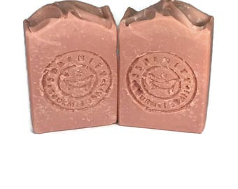 V Cleanse Rose All Natural Feminine Handmade Soap Bar with Lavender