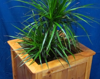 wooden planter large, flower box, indoor, outdoor accessory