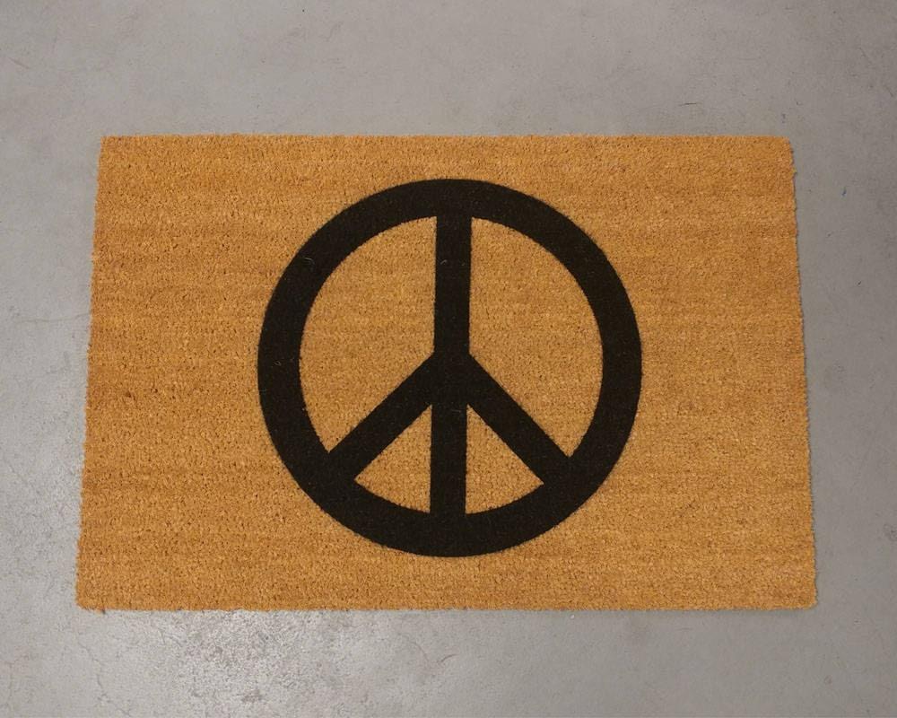 Peace Doormat size options