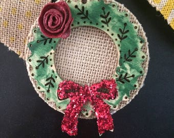 Rustic christmas ornaments, Owls ornaments, Christmas decor, Ecofriendly ornaments,  Wood ornaments, Christmas ornaments, Holidays tag
